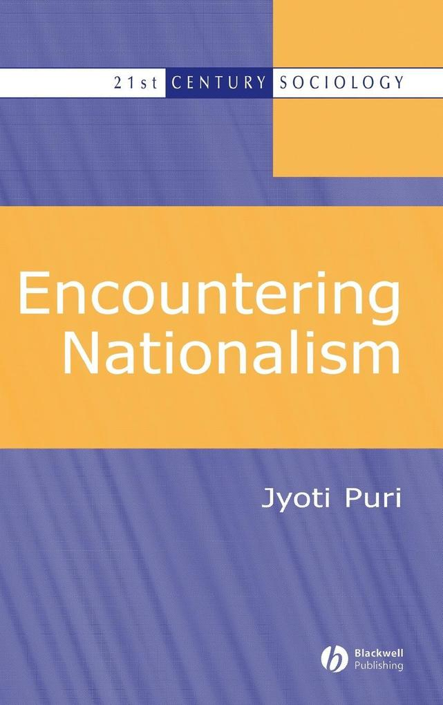 Encountering Nationalism als Buch