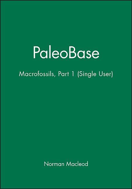 Paleobase: Macrofossils Part 1 (Single User) als Buch
