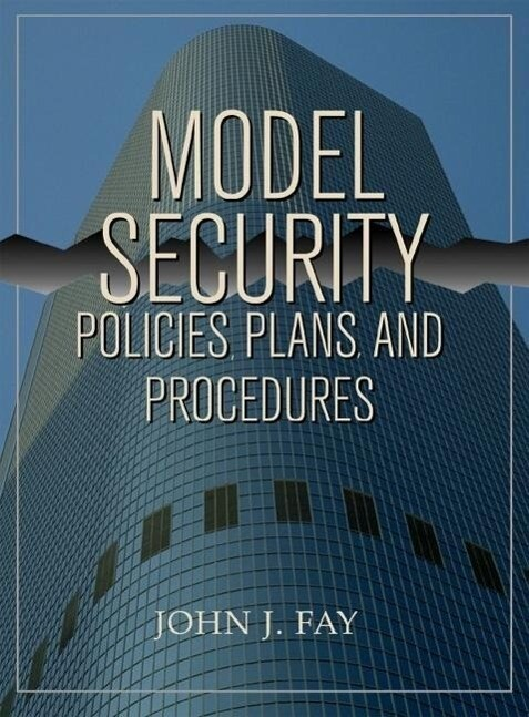 Model Security Policies, Plans and Procedures als Taschenbuch