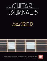 Mel Bay's Guitar Journals... Sacred als Buch