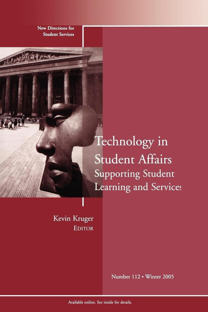 Technology Student Affair 112 als Taschenbuch