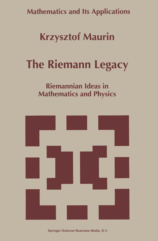 The Riemann Legacy als Buch