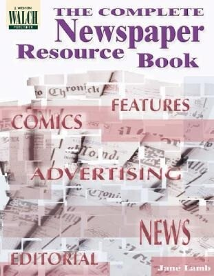 The Complete Newspaper Resource Book als Taschenbuch