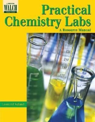 Practical Chemistry Labs: A Resource Manual als Taschenbuch