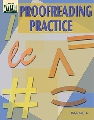 Proofreading Practice als Taschenbuch