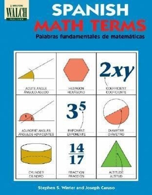 Spanish Math Terms: A Bilingual, Illustrated Guide als Taschenbuch