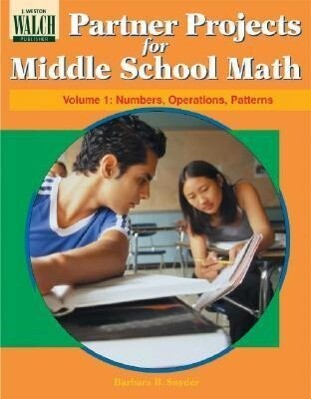 Partner Projects for Middle School Math: Numbers, Operations, Patterns als Taschenbuch