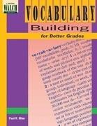 Vocabulary Building for Better Grades