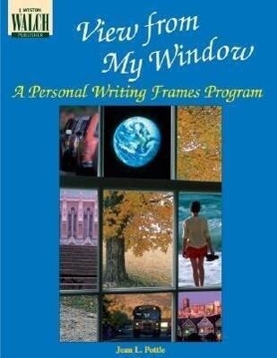 View from My Window: A Personal Writing Frames Program als Taschenbuch