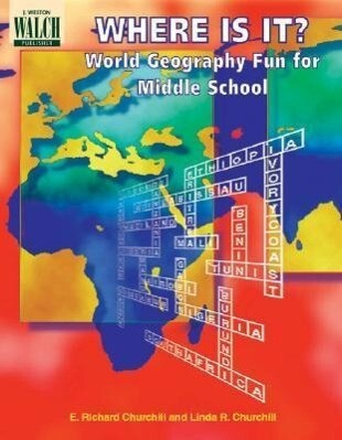 Where Is It? World Geography Fun for Middle School als Taschenbuch