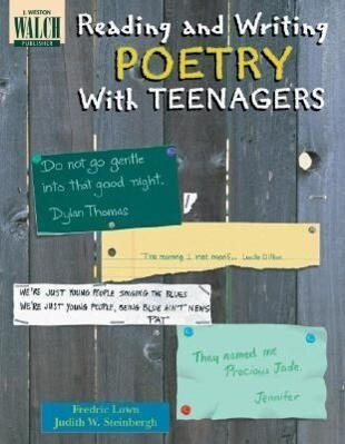 Reading and Writing Poetry with Teenagers als Taschenbuch