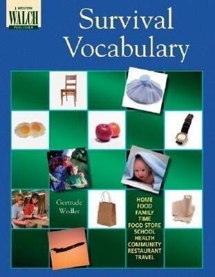 Survival Vocabulary als Taschenbuch