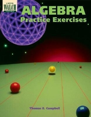 Algebra Practice Exercises als Taschenbuch
