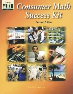 Consumer Math Success Kit als Taschenbuch