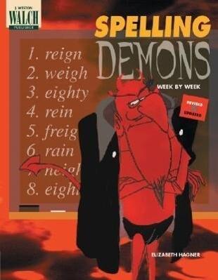 Spelling Demons Week by Week als Taschenbuch