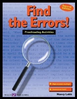 Find the Errors!: Proofreading Activities als Taschenbuch