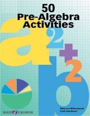 50 Pre-Algebra Activities als Taschenbuch