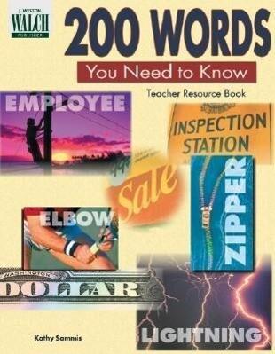 200 Words You Need to Know: Teacher Resource Book als Taschenbuch