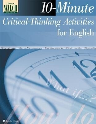 10-Minute Critical-Thinking Activities for English als Taschenbuch