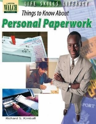 Life Skills Literacy: Things to Know Personal Paperwork als Taschenbuch