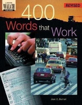 400 Words That Work: A Life Skills Vocabulary Program als Taschenbuch