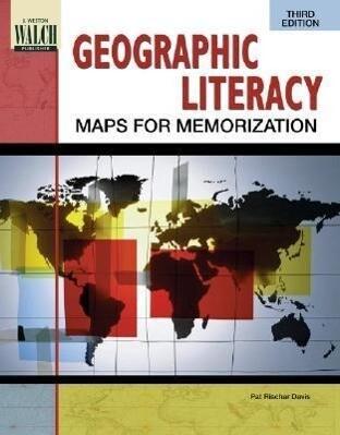Geographic Literacy: Maps for Memorization als Taschenbuch