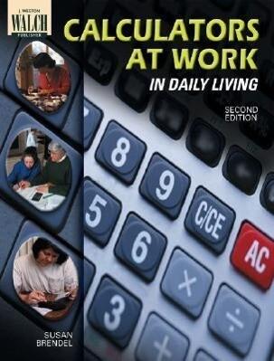 Calculators at Work in Daily Living als Taschenbuch