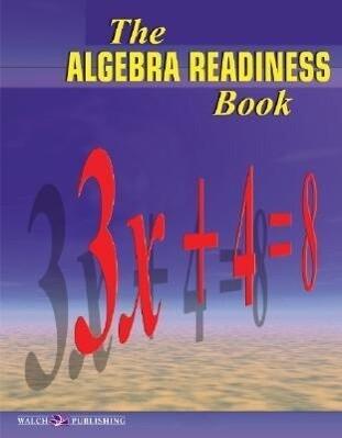 The Algebra Readiness Book als Taschenbuch