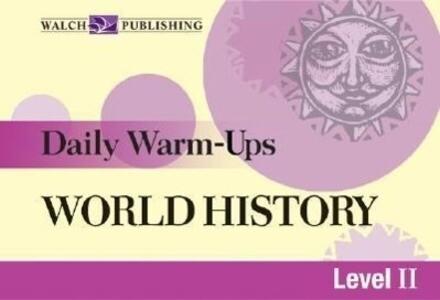 Daily Warm-Ups for World History als Taschenbuch