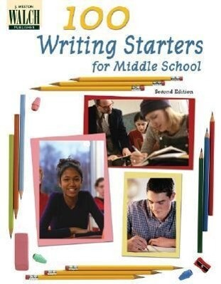 100 Writing Starters for Middle School als Taschenbuch