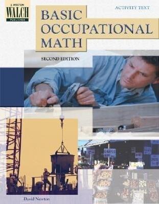 Basic Occupational Mathematics als Taschenbuch