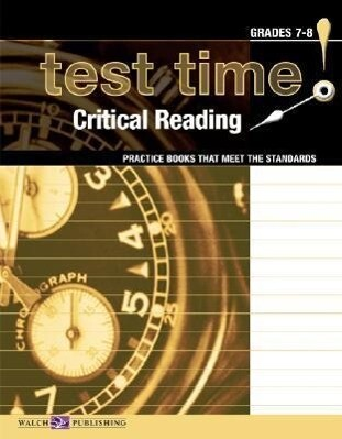 Test Time! Practice Books That Meet the Standards: Critical Reading als Taschenbuch