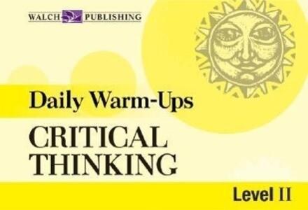 Daily Warm-Ups for Critical Thinking: Grades 5-8 als Taschenbuch