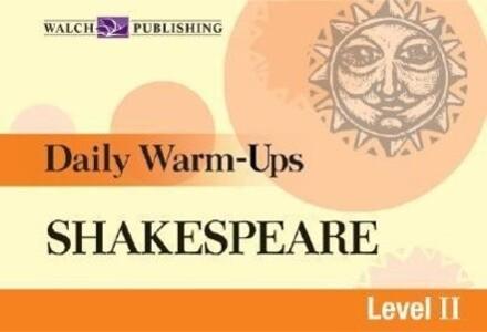 Daily Warm-Ups for Shakespeare als Taschenbuch