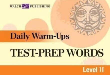 Daily Warm-Ups for Test-Prep Words als Taschenbuch