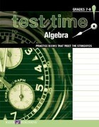 Test Time! Practice Books That Meet the Standers: Algebra