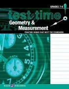 Test Time! Practice Books That Meet the Standers: Geometry & Measurement