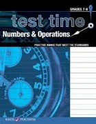 Test Time! Practice Books That Meet the Standers: Numbers & Operations