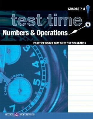 Test Time! Practice Books That Meet the Standers: Numbers & Operations als Taschenbuch