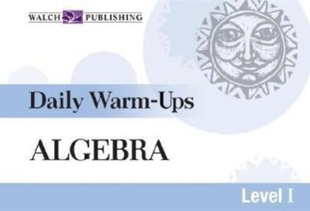 Daily Warm-Ups for Algebra als Taschenbuch