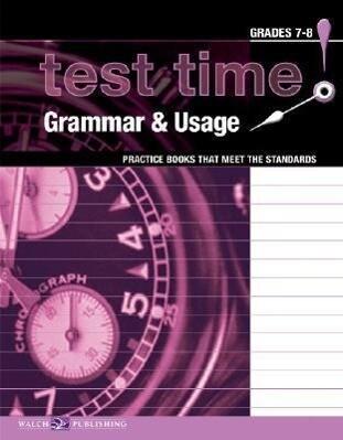 Test Time! Practice Books That Meet the Standards: Grammar & Usage als Taschenbuch