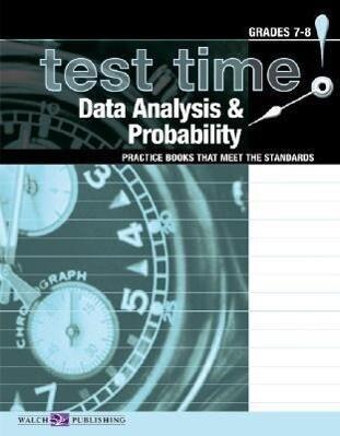Test Time! Practice Books That Meet the Standards: Data Analysis & Probability als Taschenbuch