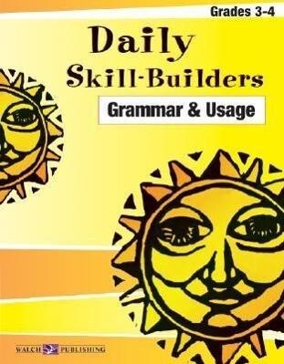 Daily Skill-Builders for Grammer & Usage: Grades 3-4 als Taschenbuch