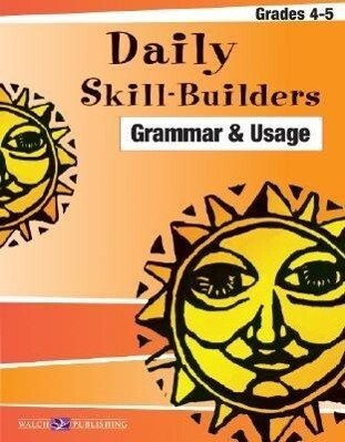 Daily Skill-Builders for Grammer & Usage: Grades 4-5 als Taschenbuch