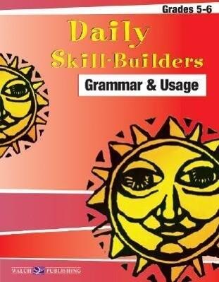 Daily Skill-Builders for Grammer & Usage: Grades 5-6 als Taschenbuch
