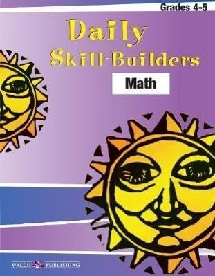 Daily Skill-Builders for Math: Grades 4-5 als Taschenbuch