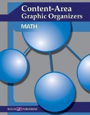 Content-Area Graphic Organizers for Math als Taschenbuch