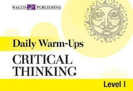 Daily Warm-Ups for Critical Thinking: Level 1 als Taschenbuch