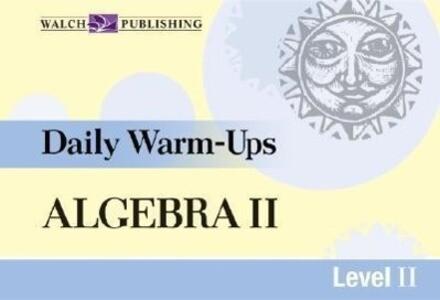 Daily Warm-Ups for Algebra II als Taschenbuch