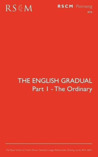 The English Gradual Part 1-The Ordinary als Taschenbuch